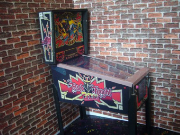 Black Knight 2000 ~ 1/12th Scale Miniature Pinball Table Model